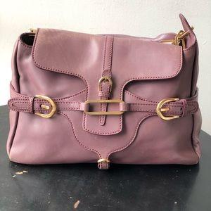 Jimmy choo purple satchel